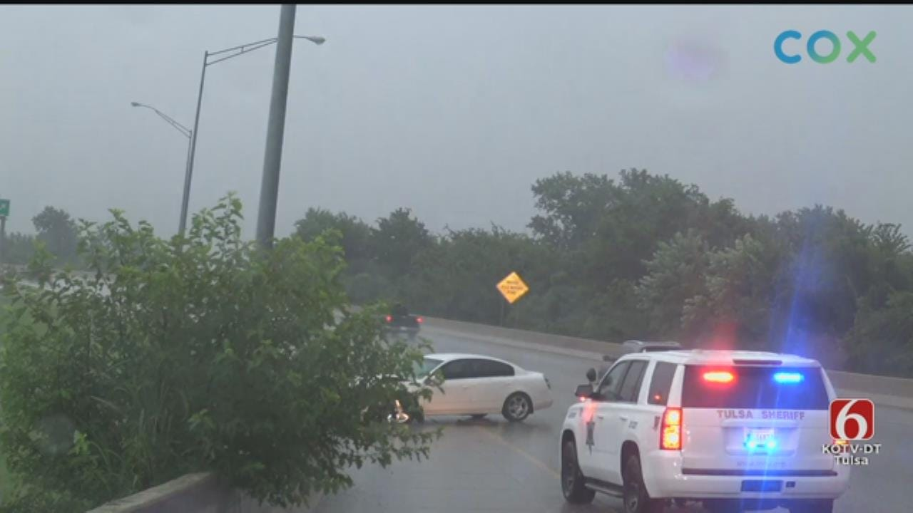 WATCH: News On 6 Storm Tracker Darren Stephens Tracks Storms In The Tulsa Area