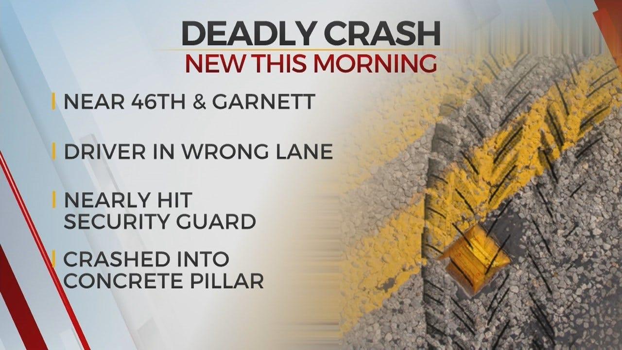 1 Dead After Tulsa Crash