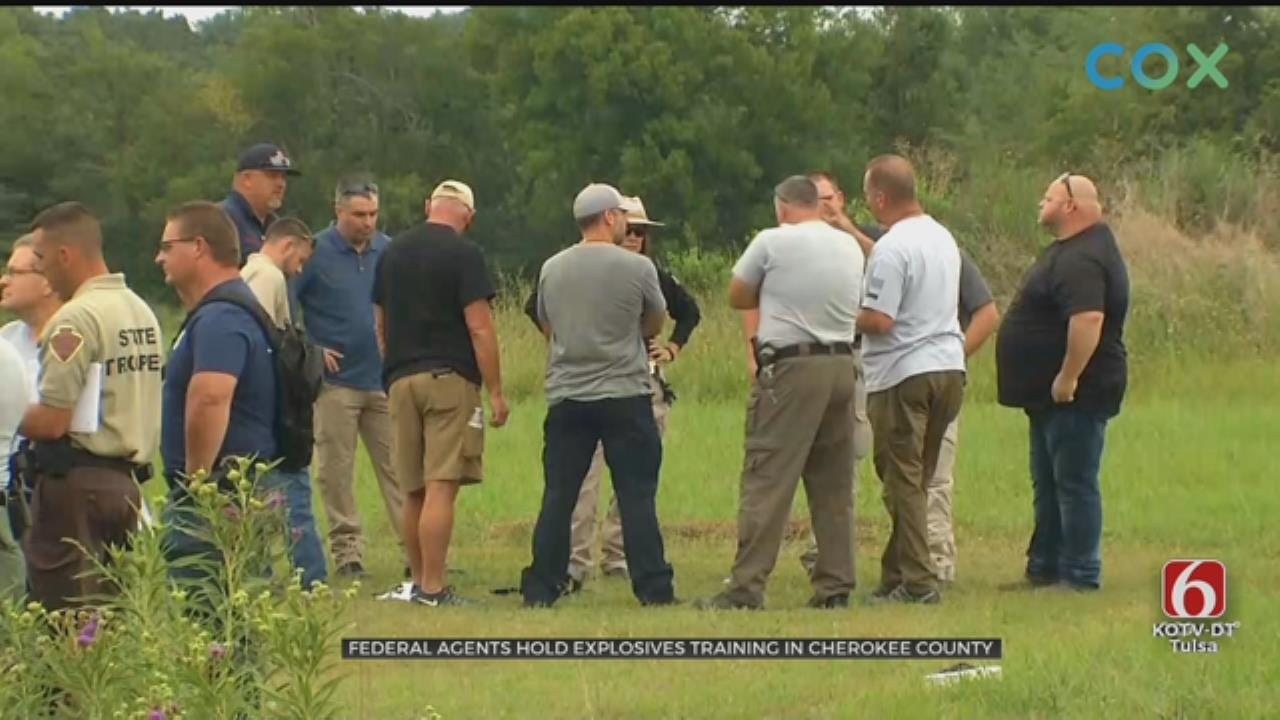 ATF Provides Explosives Training For Green Country Law Enforcement