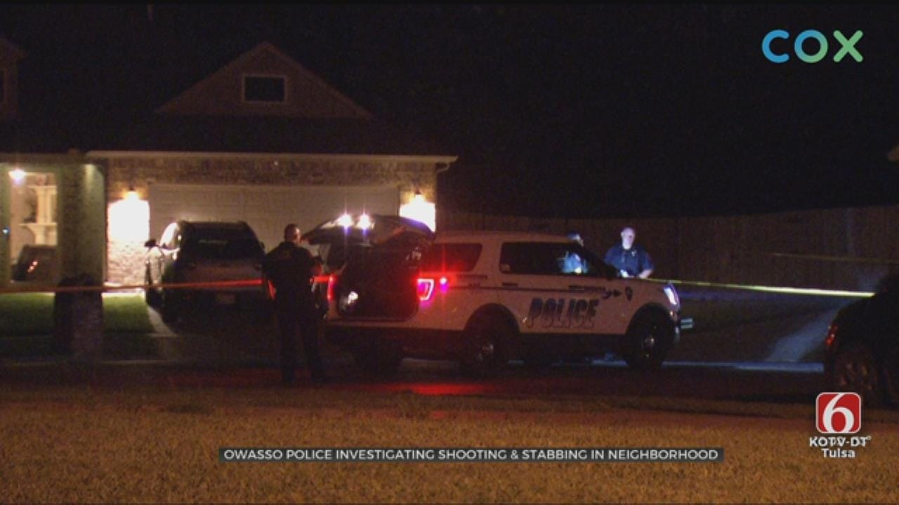 Father And Son Recovering After Owasso Stabbing, Shooting