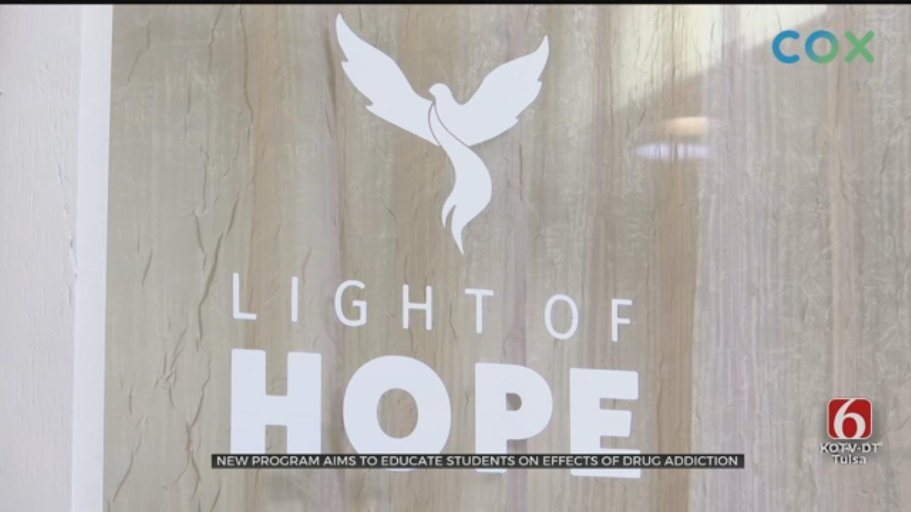 Rogers Co. Students Receive New Drug Prevention Program