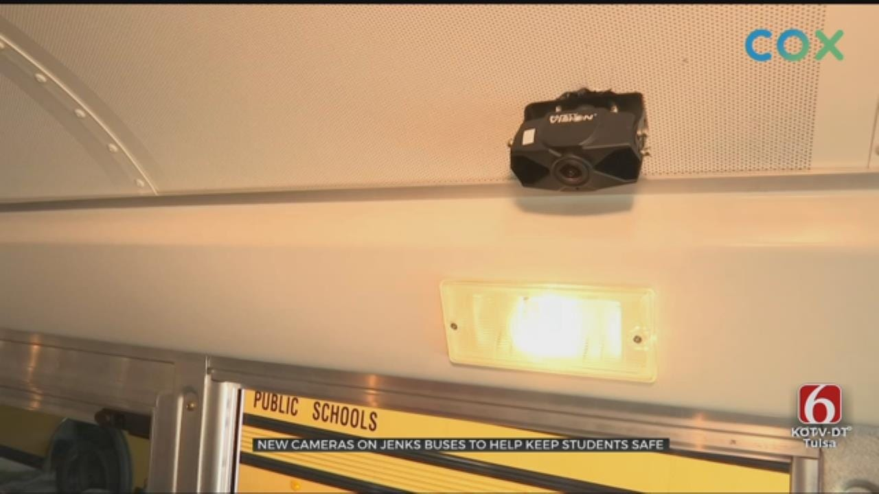 Jenks Schools Steps Up Child Safety With Bus Cameras