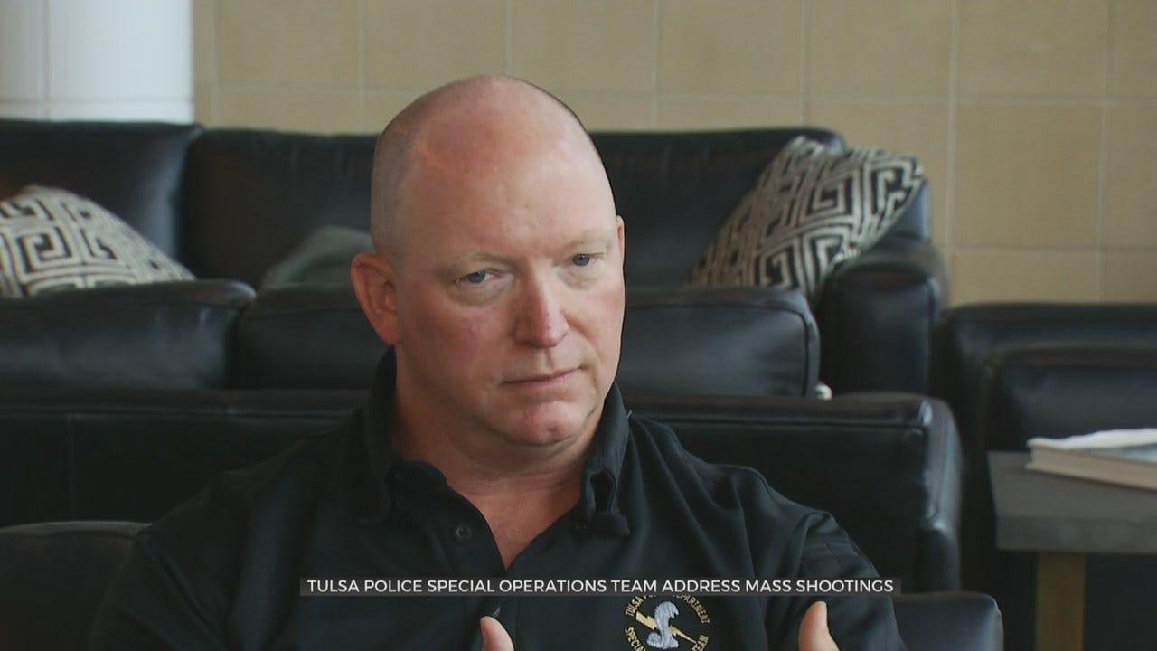 Tulsa Police Taking Extra Precaution After Recent Mass Shootings