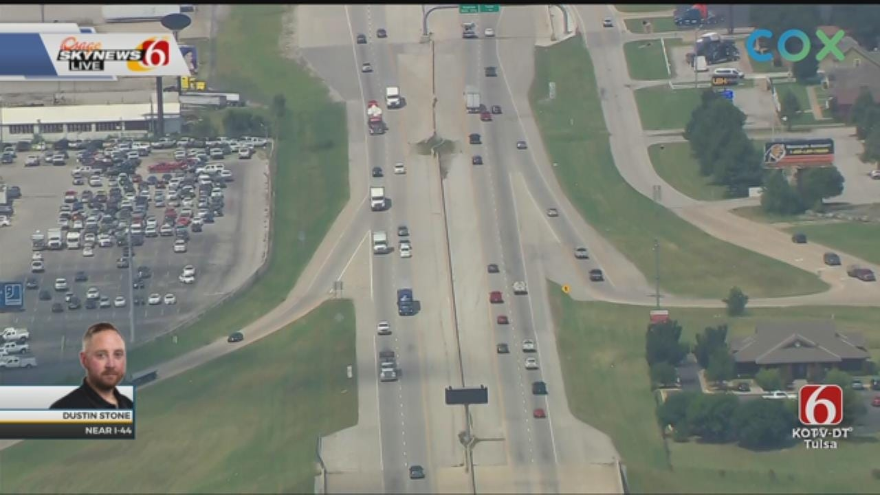 I-44 Widening Project Starts Monday In Tulsa