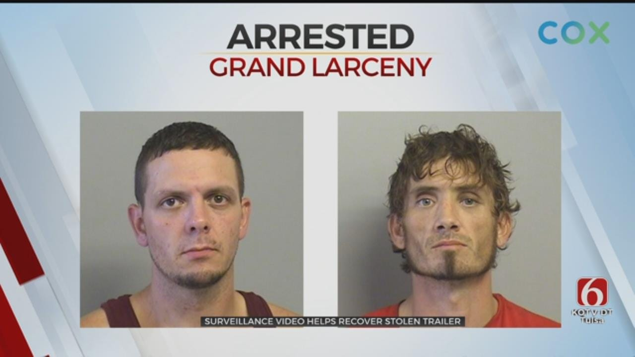 2 Men In Custody After Stealing Trailer For Construction Site