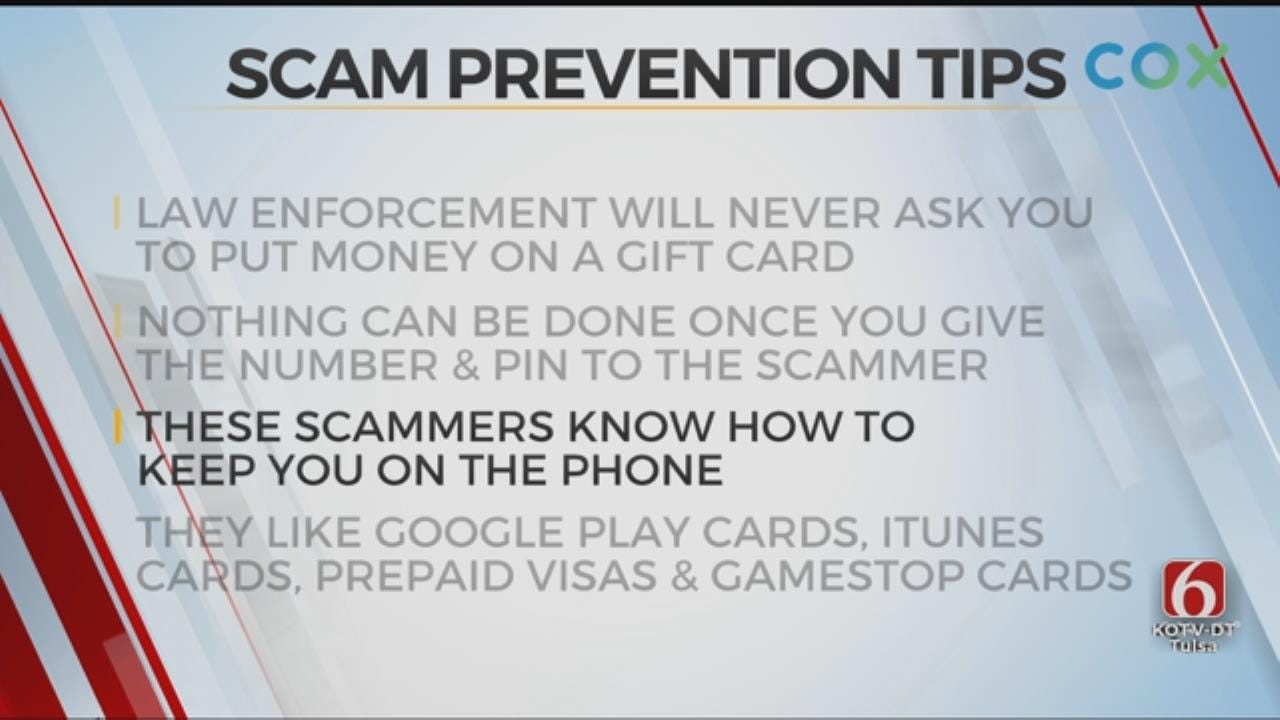 Tulsa Police: Newest Scammers Say They'll Arrest You If You Don't Pay