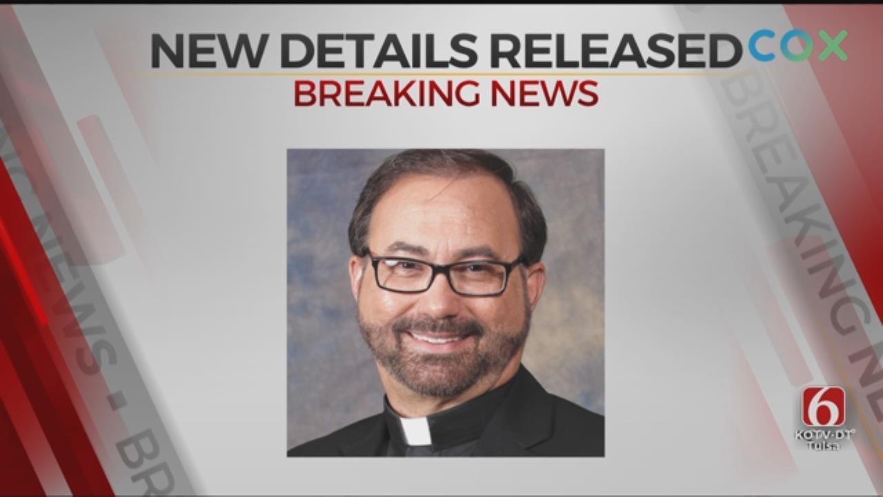 Diocese Releases Update On Alleged Sexual Misconduct Of Tulsa Priest