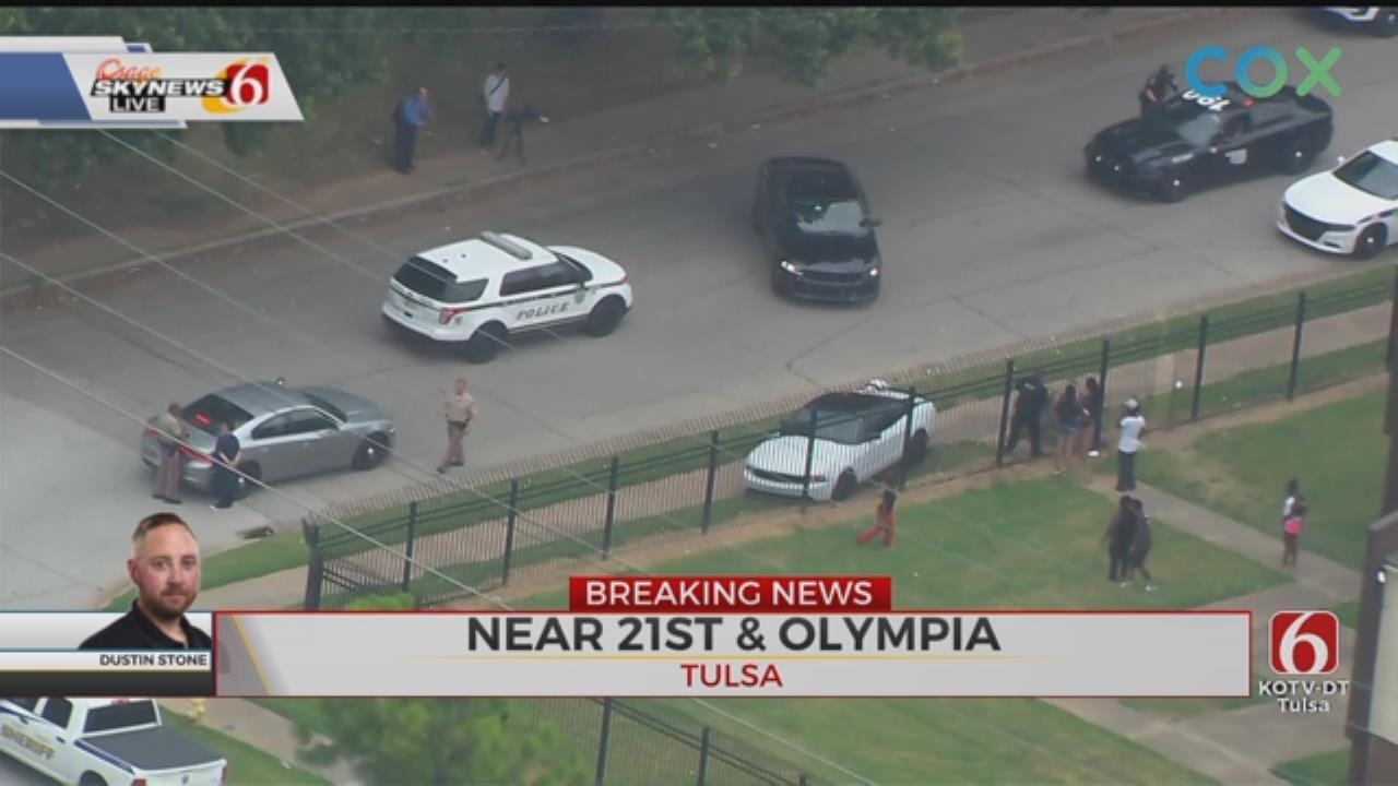 WATCH: OHP Pursuit Ends At Tulsa Apartment Complex