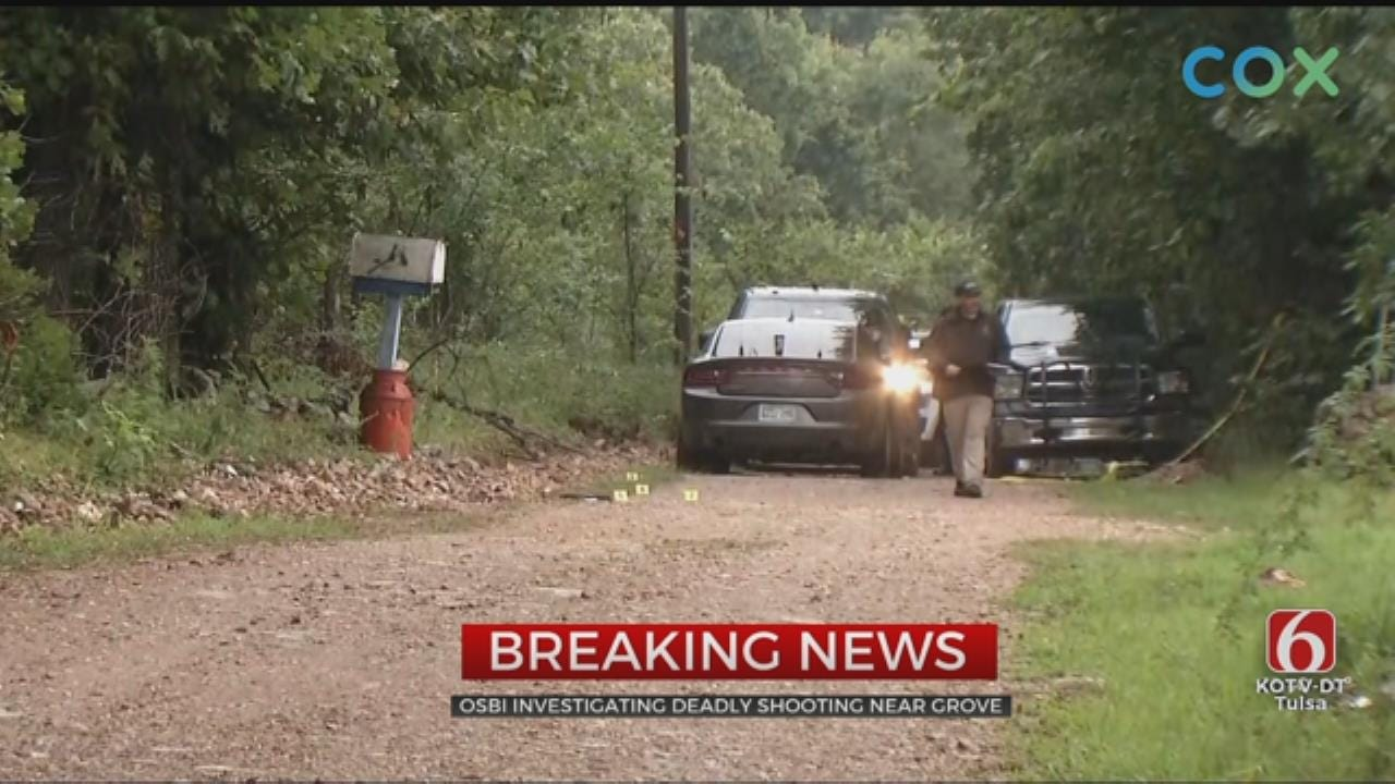 2 Men Sought In Deadly Grove-Area Shooting; 1 Vehicle Located