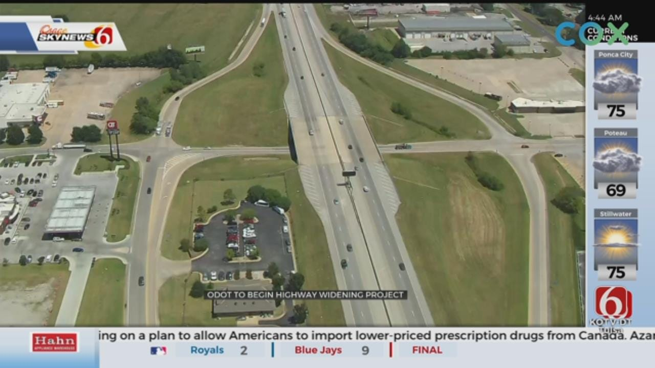 I-44 Widening Project Starts