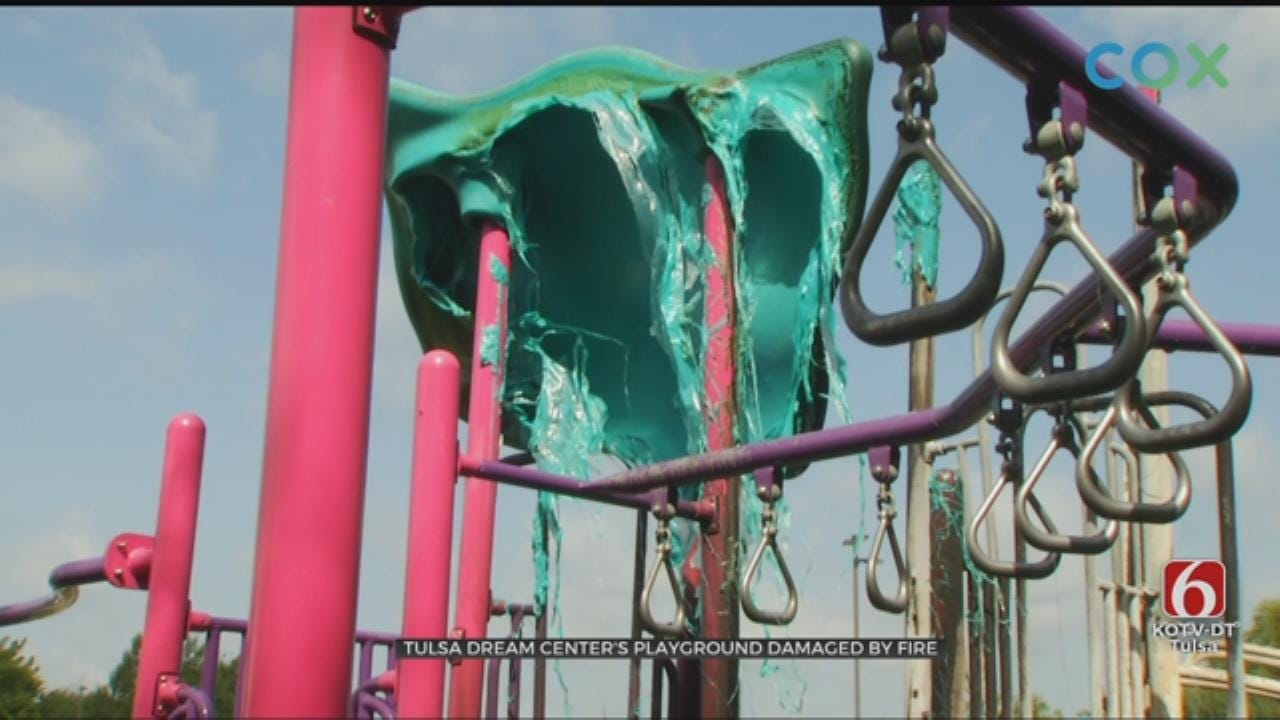 Tulsa Nonprofit In Need After Playground Set On Fire