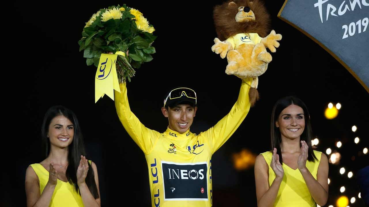 22-Year-Old Egan Bernal Of Columbia Wins Tour De France
