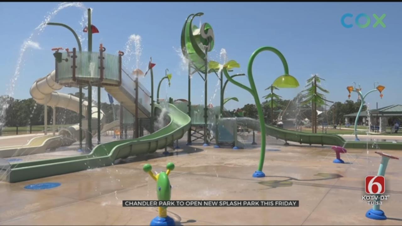 Largest Splash Park In Oklahoma Opens At Chandler Park