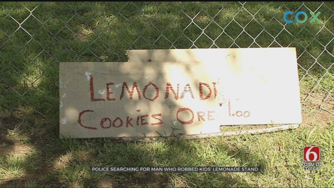 Warrant Out For Man Accused Of Stealing From Tulsa Lemonade Stand