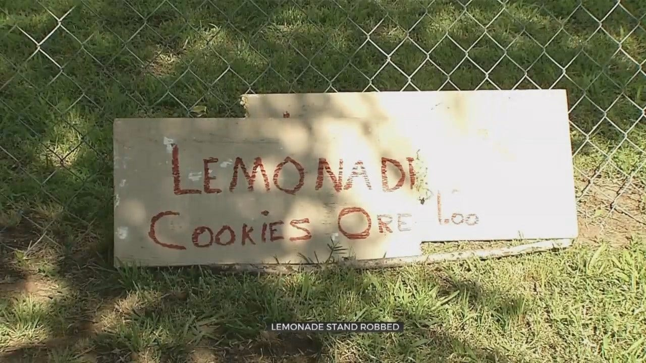 Kids Running Lemonade Stand Robbed, Tulsa Police Say
