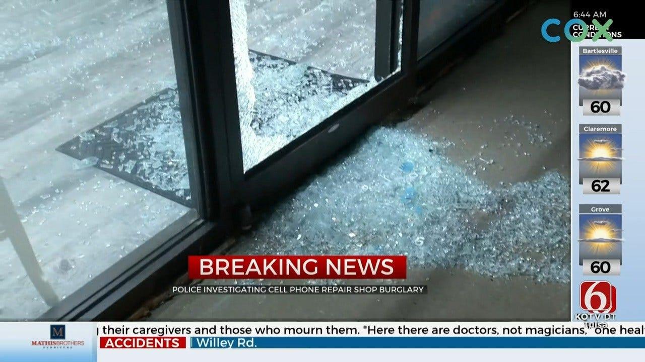 Tulsa Cell Phone Hospital Robbed Overnight