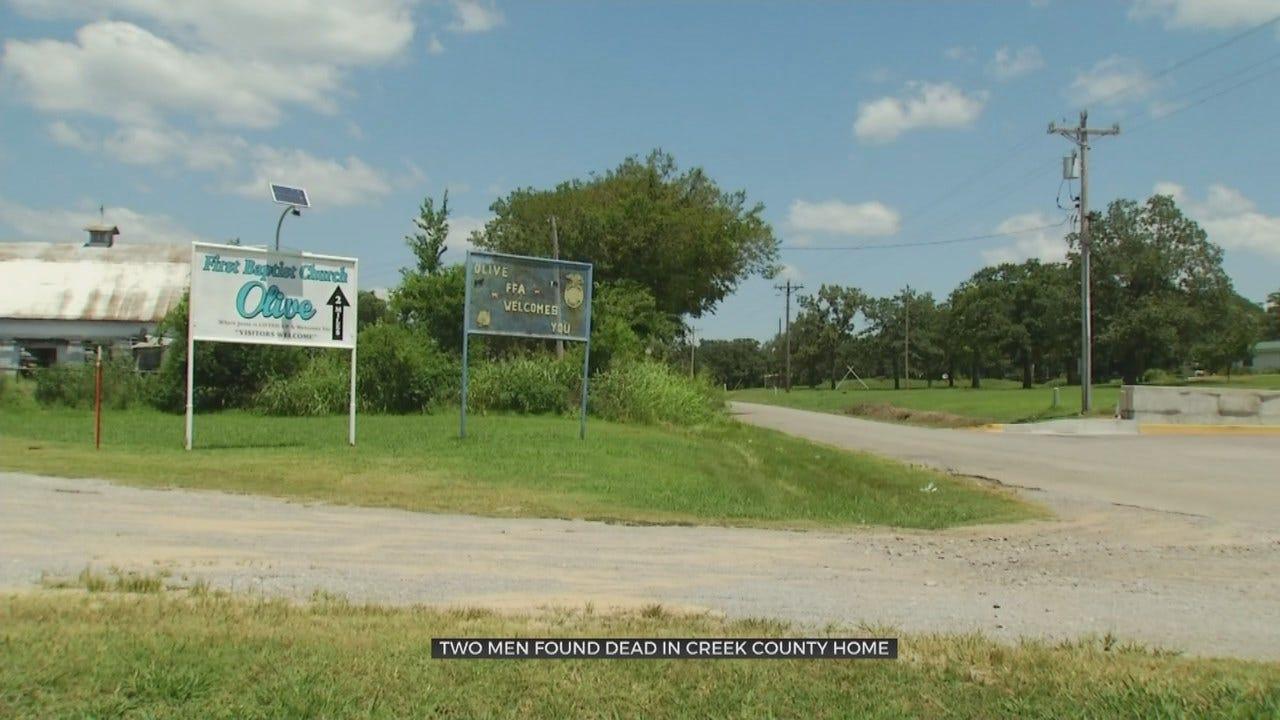 2 Men Found Dead In Creek County Home