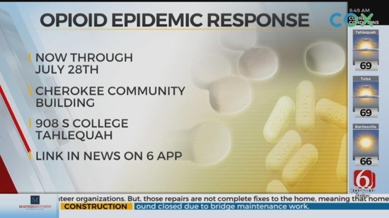 Week Long Opioid Event Underway In Tahlequah