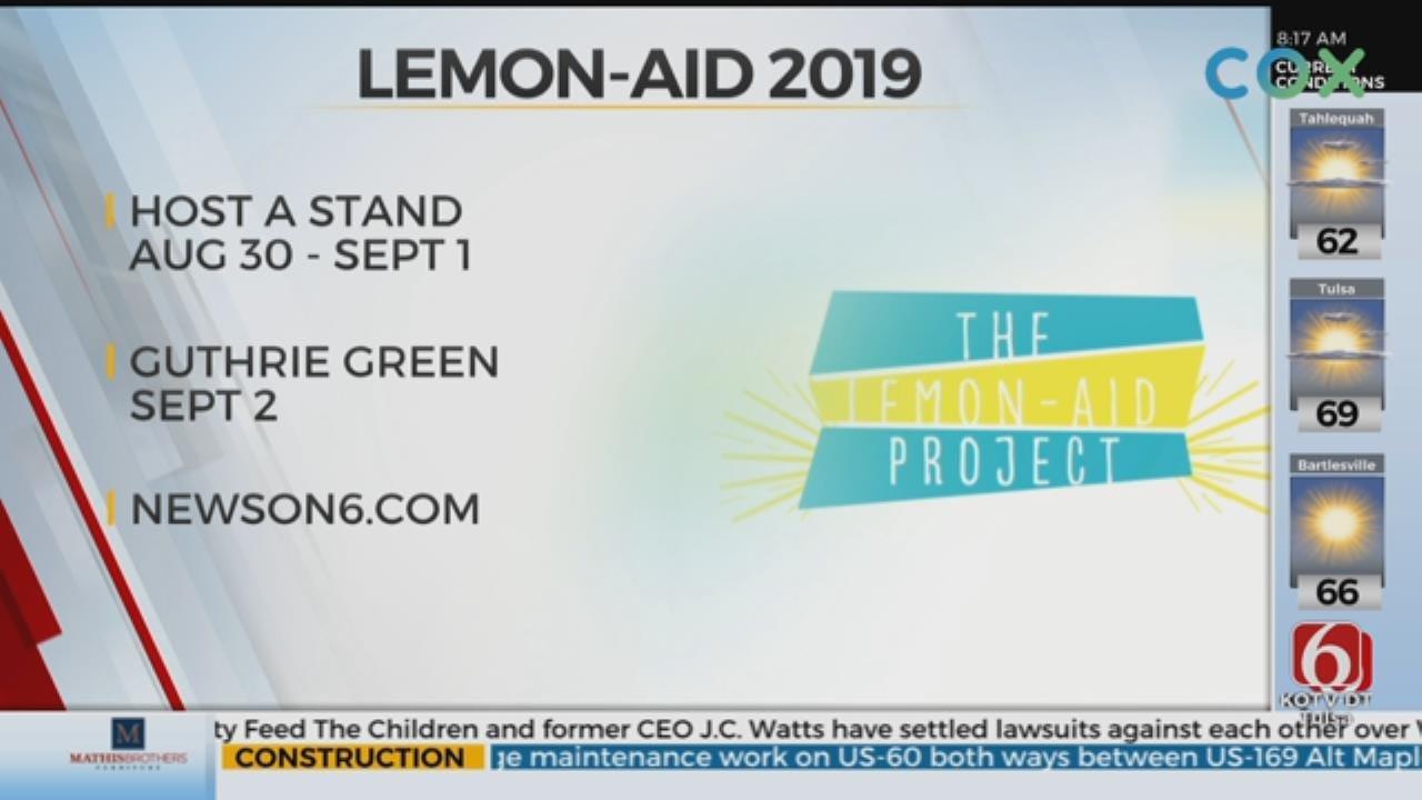 Lemon-Aid Celebrates 25th Anniversary In Tulsa