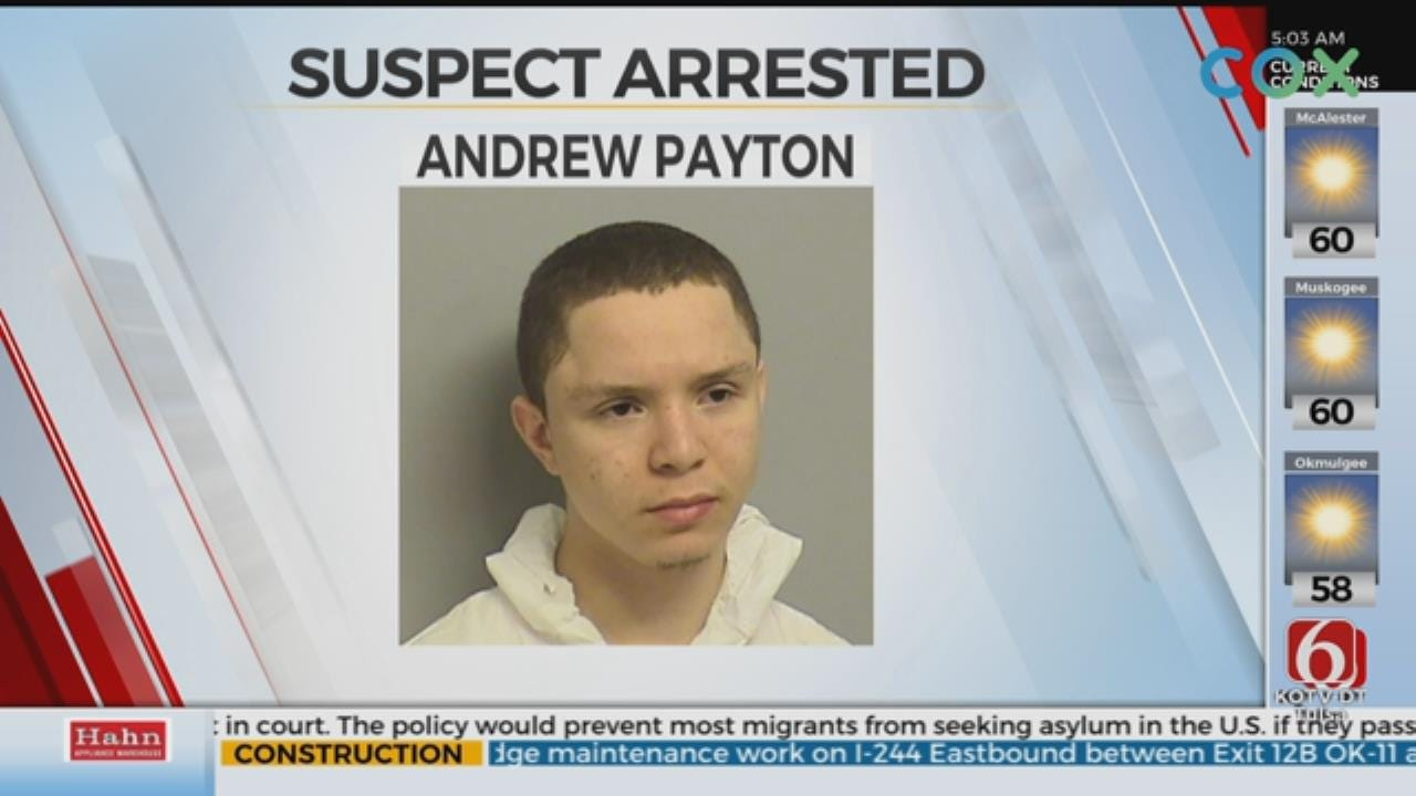 Arrest Made After Overnight Crime Spree