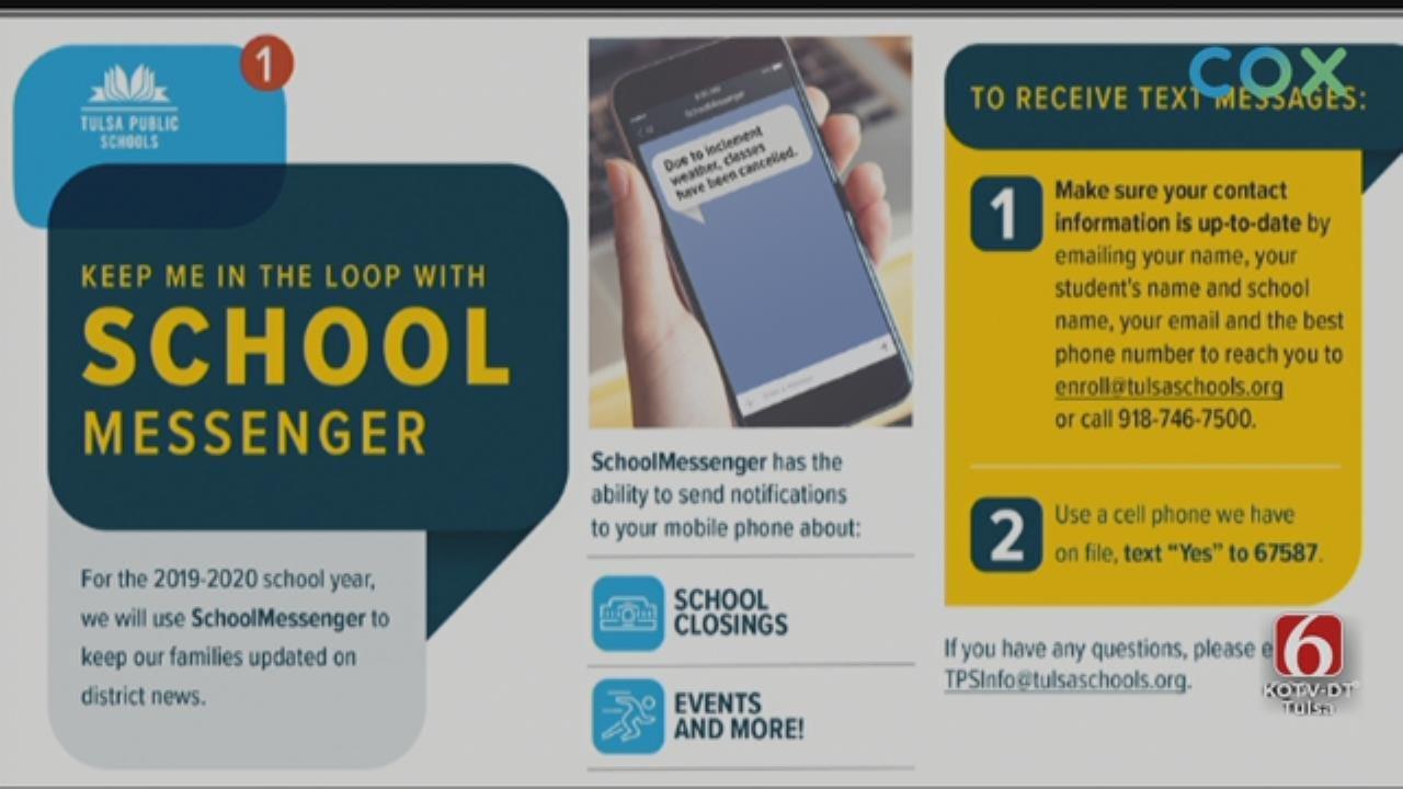 Tulsa Public Schools To Use SchoolMessenger App