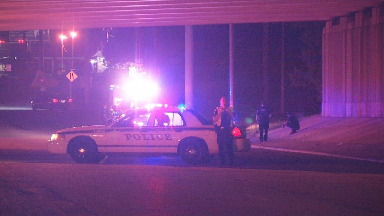 Tulsa Police Investigating Shooting Near I-44 Overpass