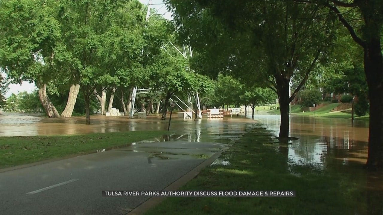 Nearly $8 Million Needed To Repair Flood Damage At Tulsa River Parks, City Says