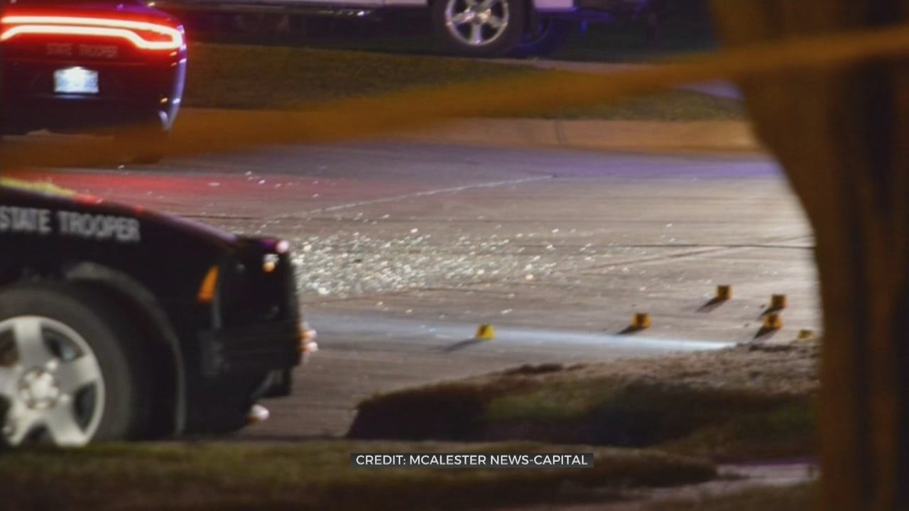 McAlester Police Chase Ends With 1 Dead After Shooting