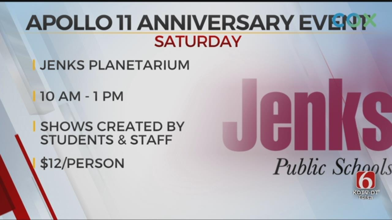 Jenks Planetarium To Celebrate Apollo 11 Anniversary