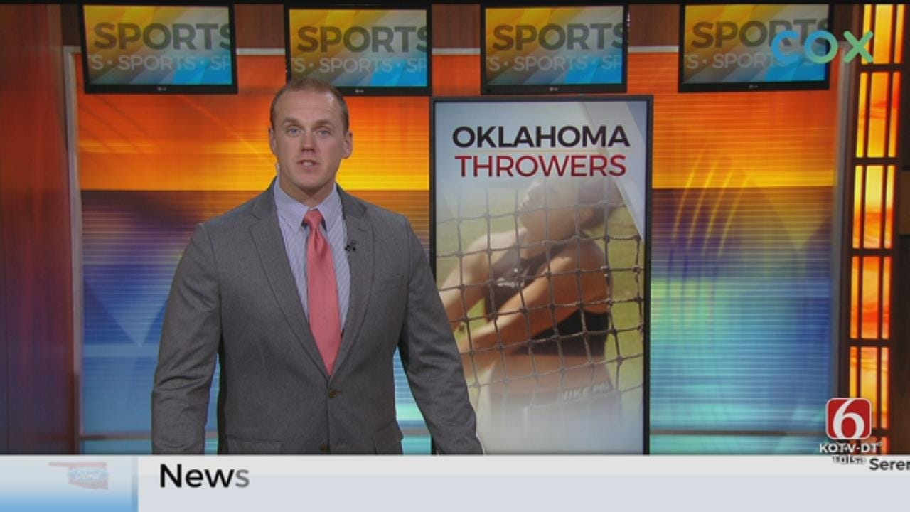 Track And Field Athletes Take Part In Oklahoma Throwing Series