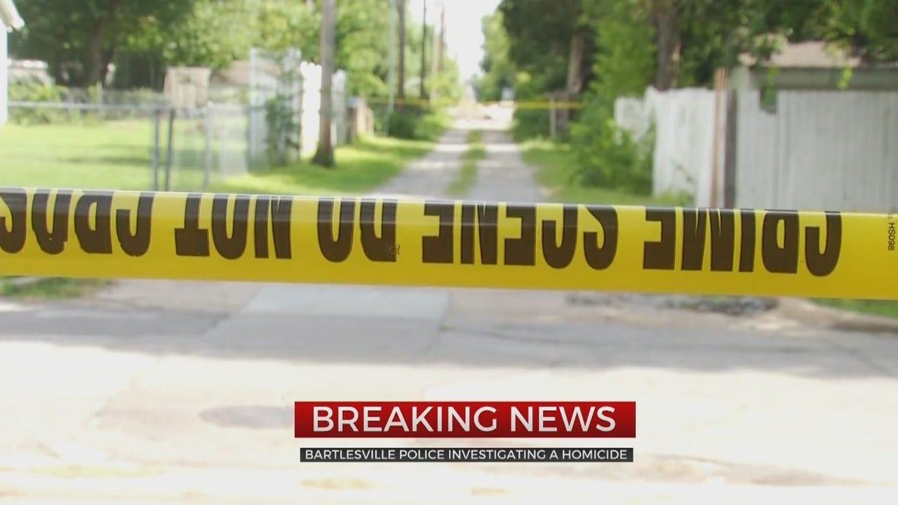 Bartlesville Police Investigating Homicide After Man Found Shot In Alley
