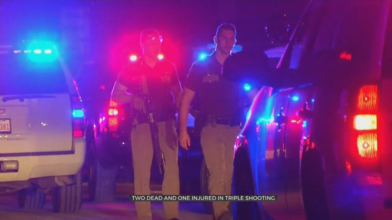 UPDATE: Tulsa County 'Gun Battle' Leaves 2 Dead, 1 Wounded