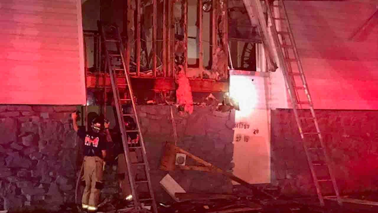 Fire At Vacant Tulsa Apartment Complex
