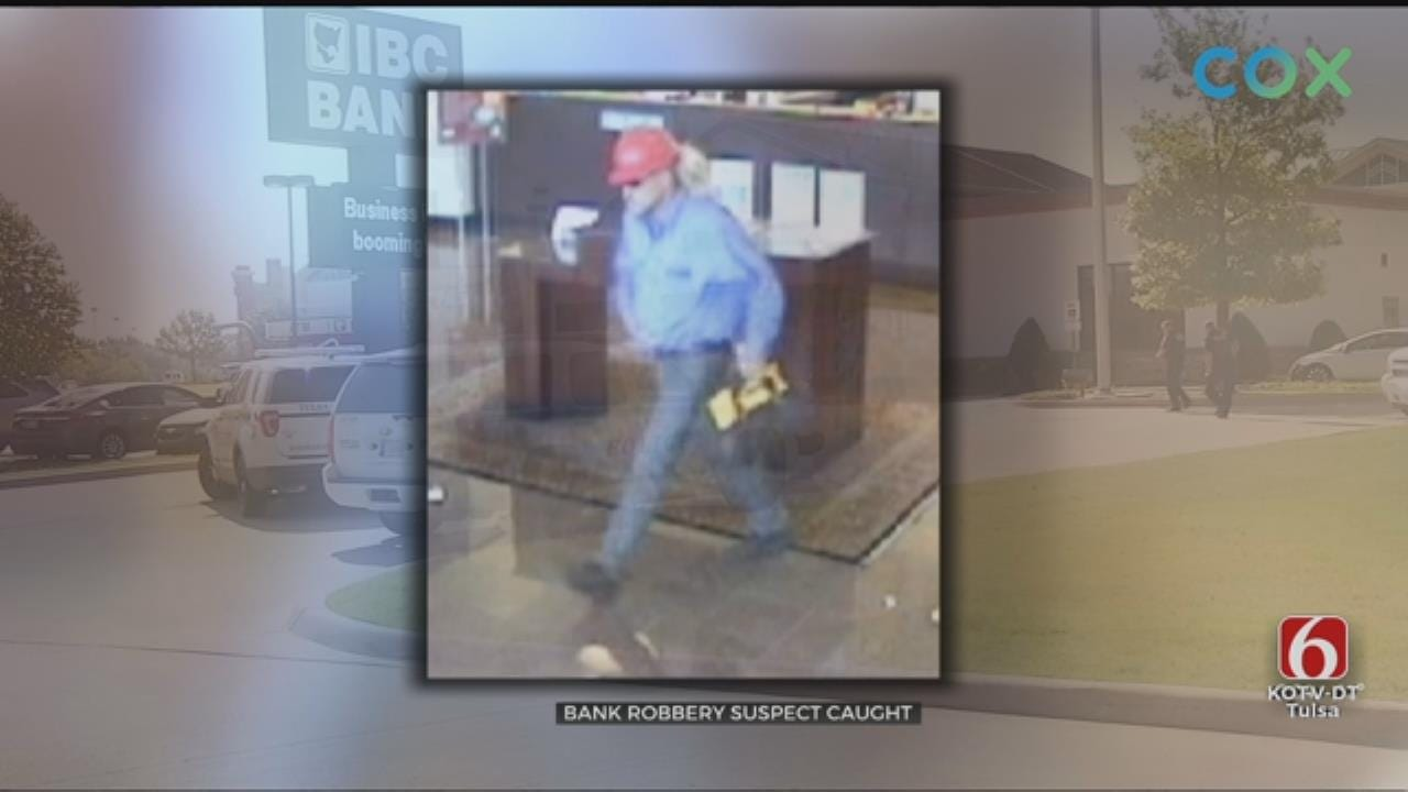 Man Suspected Of Robbing Bank Arrested