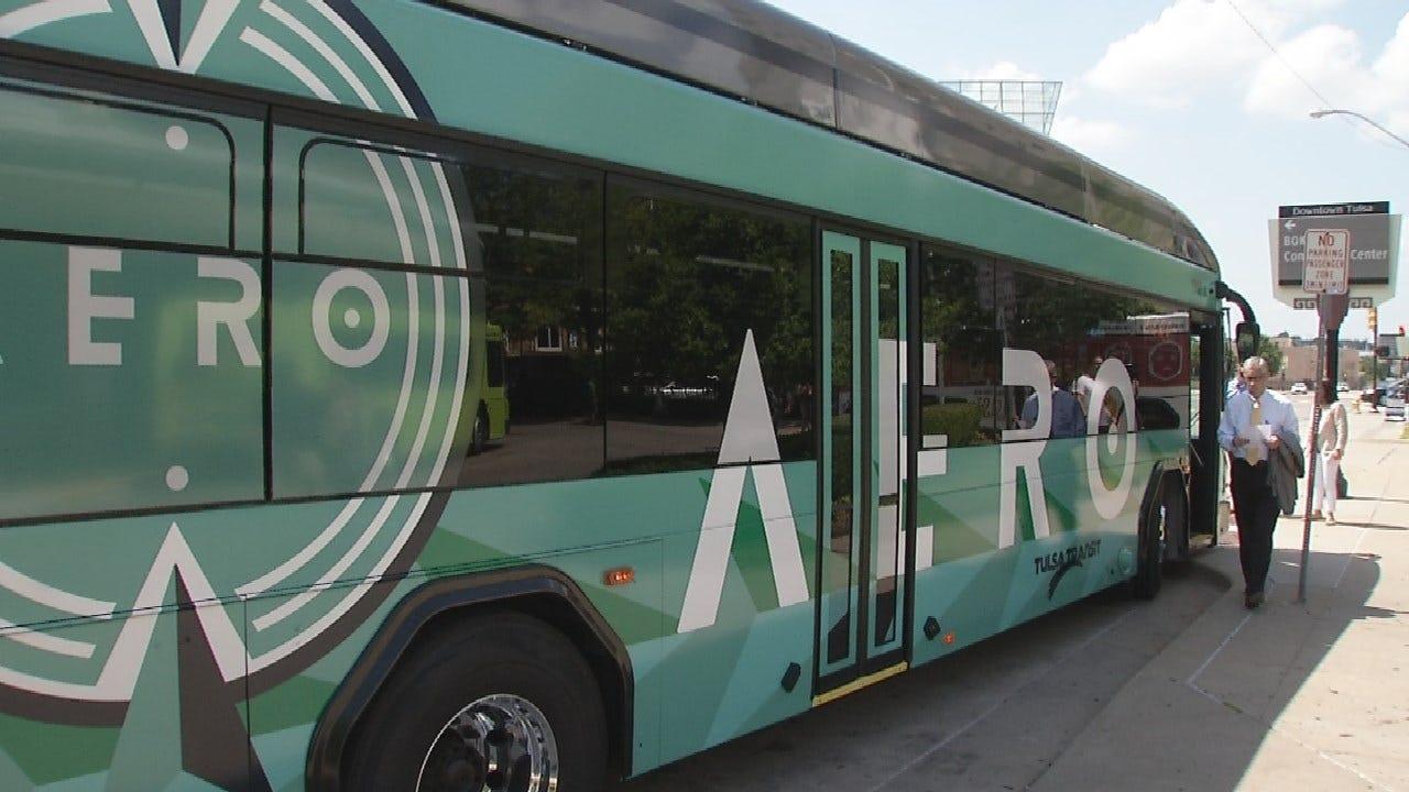 Tulsa Reveals Aero Rapid Transit Bus