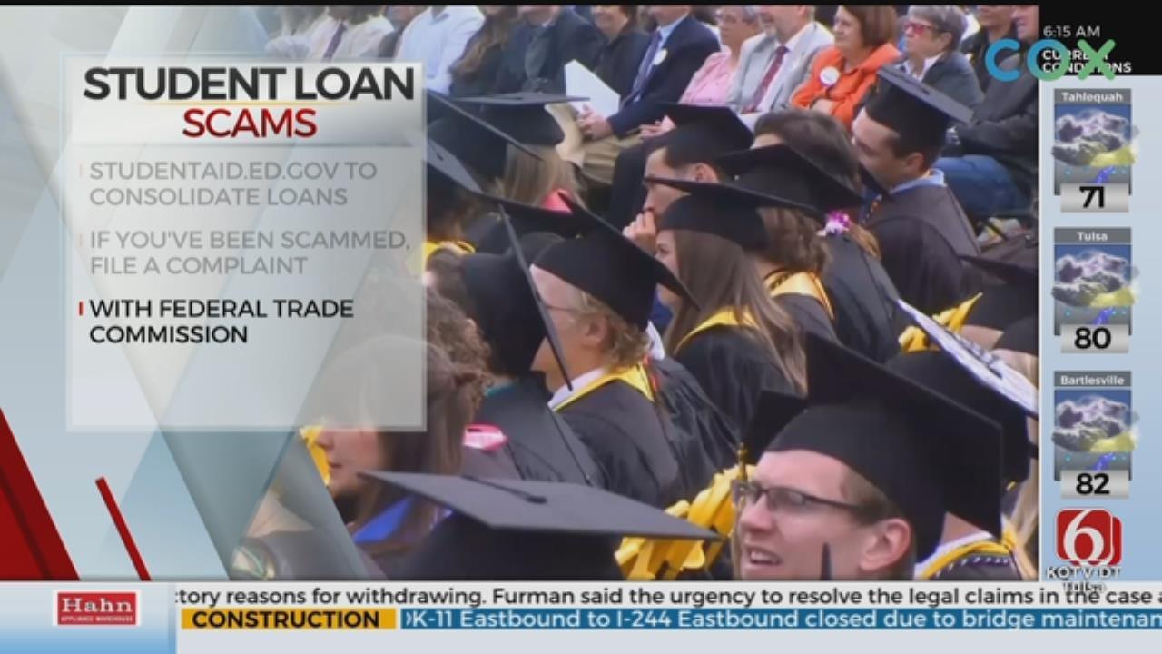 Better Business Bureau Warns Of Student Loan Scams