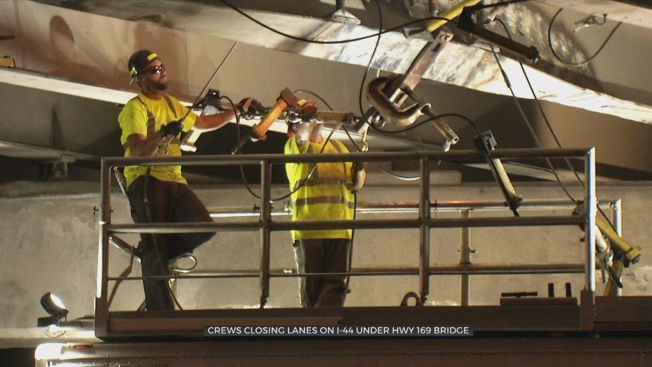 Bridge Repair Closes Lanes On I-44