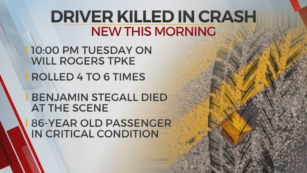 1 Dead, 1 Recovering After Fatal Rogers County Crash