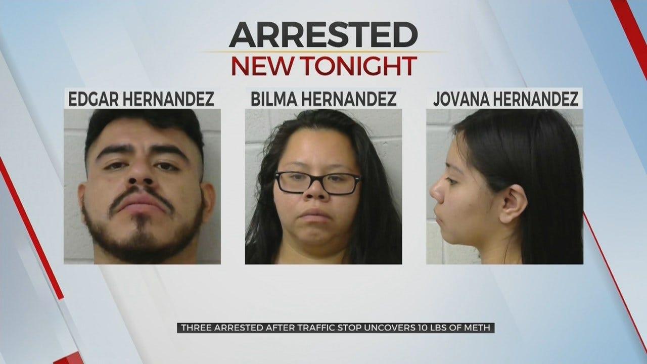 Okmulgee County Deputies Arrest 3 Suspects Accused Of Meth Trafficking
