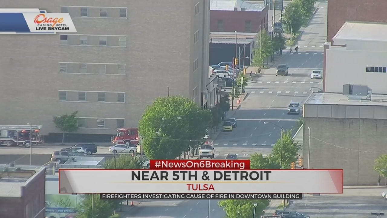 Tulsa Firefighters Respond to Call, Closes Part of Detroit Avenue