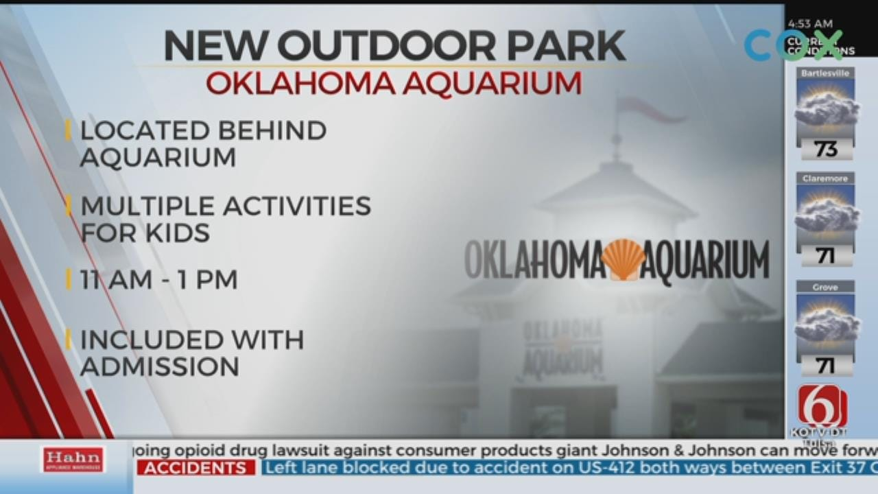 The Oklahoma Aquarium Opening New Playground