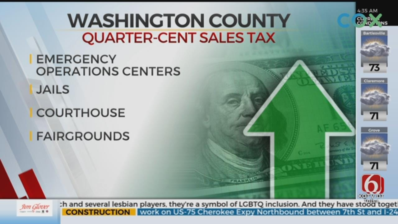 Washington County Holds Vote To Extend Quarter-Cent Sales Tax