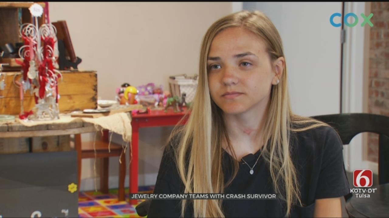 Jewelry Company Teams With Izzy Kitterman, Jenks Crash Survivor
