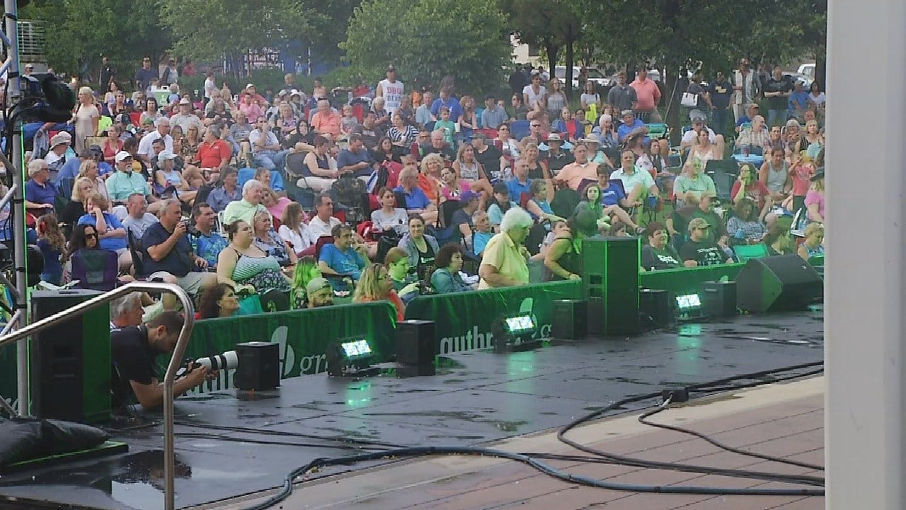 Good Turnout For 'Rock The Block' Event Despite Rainy Conditions