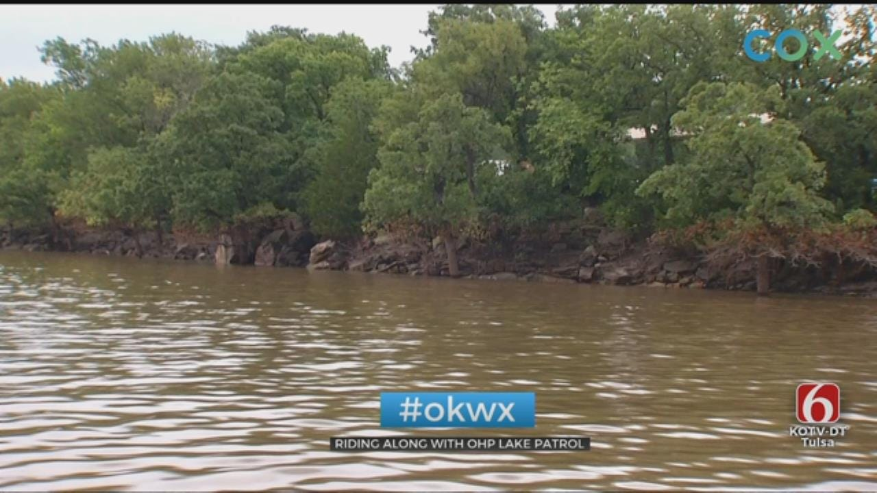 Troopers Facing Challenges Patrolling Flooded Oklahoma Lakes