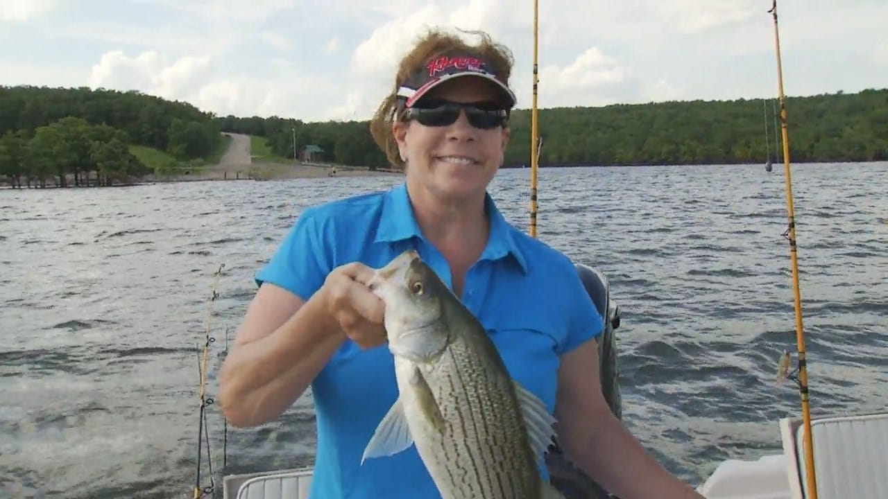 WEB EXCLUSIVE: 'Gone Fishin' Giveaway' Winner Hits The Lake With Tess Maune