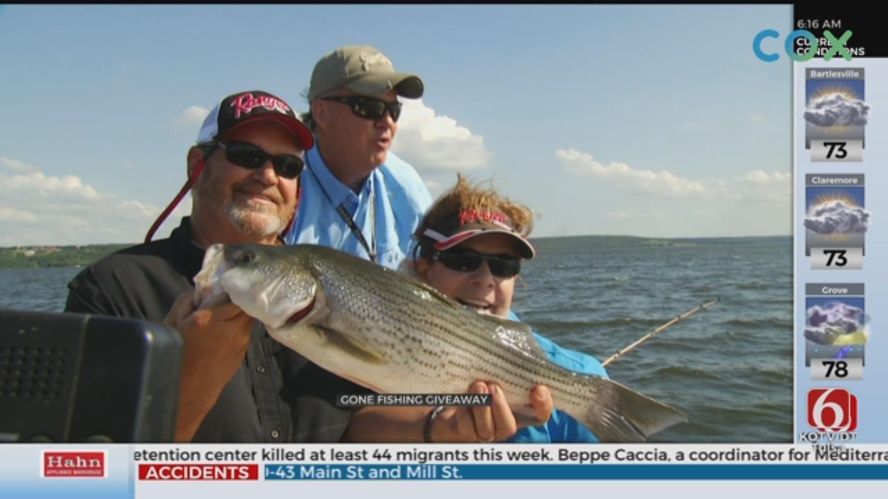 'Gone Fishin' Giveaway' Winner Hits The Lake With Tess Maune