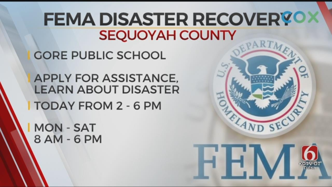 FEMA Disaster Recovery Center Opens In Sequoyah County
