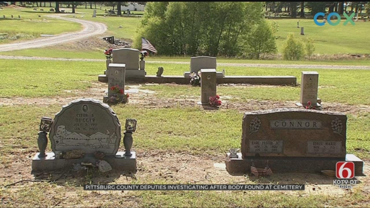 Pittsburg County Deputies Investigating After Body Found At Cemetery