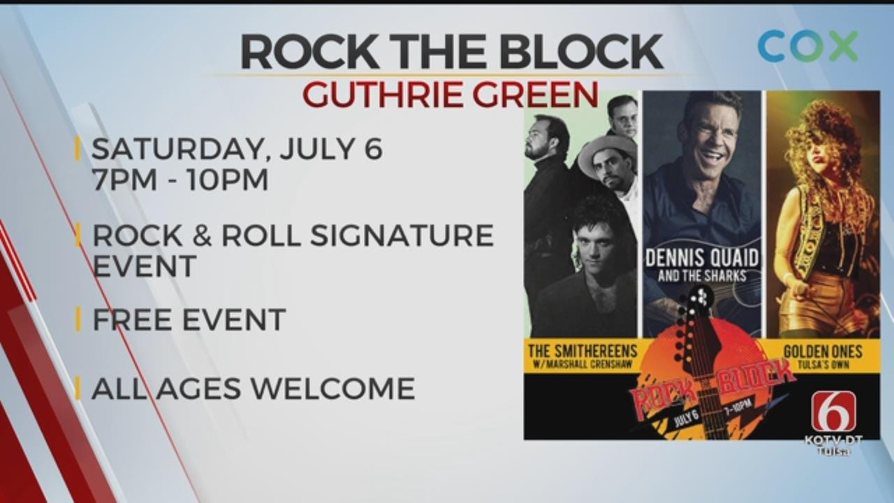 Rock The Block Comes To Guthrie Green
